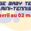 Nouveau cette année ! Le TCPE vous propose le stage enfant Baby et Mini-tennis pendant les vacances de Pâques ! Du 28 avril au 02 mai 2014. Stage de 10h30 […]