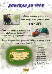 Affiche le potager ambulant