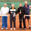 Rencontre entre nos «Vieux Débris» contre les anciens du tennis club de Vienne, vendredi 21 octobre 2016. Une rencontre sous un sympathique soleil d'automne…
