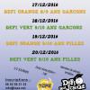 Le TCPE pense aussi aux plus jeunes et organise des tournois «Défi» Vert et Orange, garçons et filles. 17/12/2016 : Défi Orange Garçons 8/9 ans 18/12/2016 : Défi Vert Garçons […]