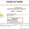 Le TCPE organise un stage de tennis du 12 au 16 février, le matin seulement (voir ci-dessous). Horaires : 9h30 / 12h A partir de 5 ans Veuillez vous rapprocher […]